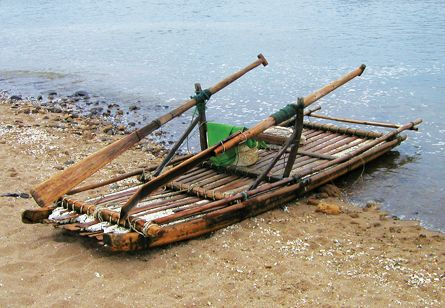 Ancient Chinese Raft