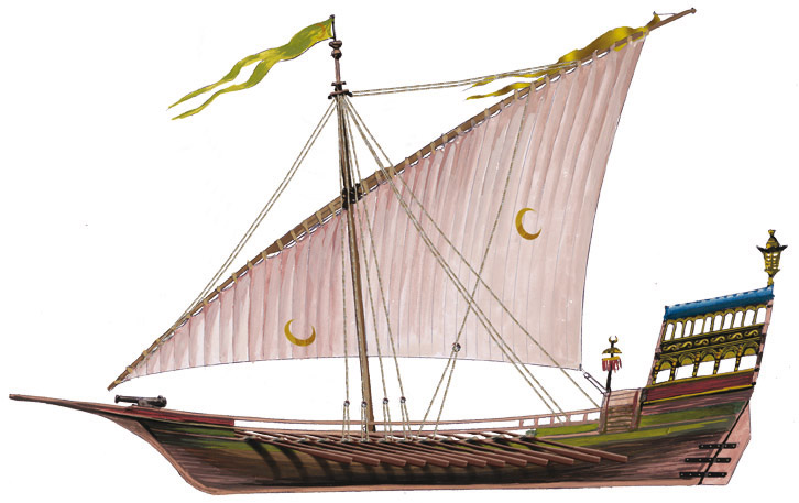 Galère Amirale Ottomane